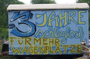 3 Jahre Wagengruppe Schlagloch