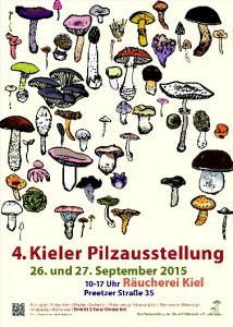 4. Pilzausstellung der Kieler Pilzfreunde e.V.