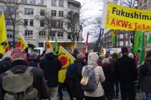 Anti-AKW-Demo Kiel 12.3.2016: Auftaktkundgebung