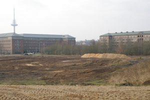 Baufeldräumung für das Zentralbad - Foto: Rosa Thiemer