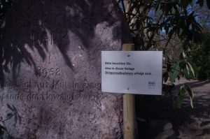 Düngung mit Blaukorn u.a. im Diederichsenpark