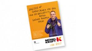 Detlef Hammerich als Werbeträger für Möbel Kraft. Urheber- und sonstige Rechte bei Möbel Kraft