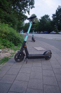 E-Roller als Verkehrshindernis