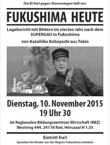 Fukushima heute - Veranstaltung der BI gegen Atomanlagen in Kiel