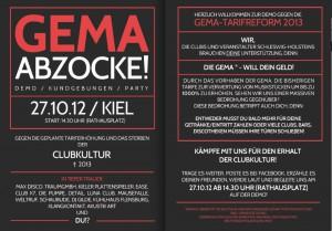 GEMA-Demo