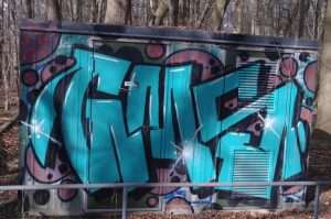 GMS - Graffiti Nähe Forstbaumschule