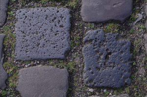 Giftige Schlackesteine als Straßenbelag