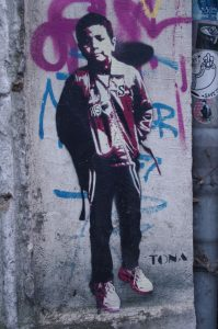 Graffiti im Gängeviertel