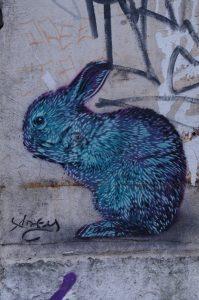 Graffiti im Gängeviertel Hamburg
