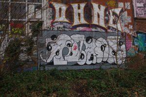 Graffiti in Hamburg-Wilhelmsburg