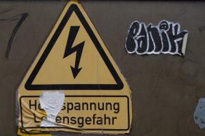 Hochspannung in Eckernförde