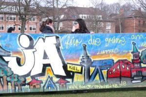 JA beim Bürgerentscheid am 23.3.2014. Demo am 1.3. in Kiel