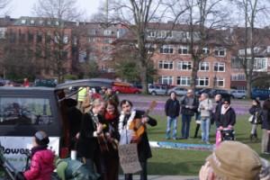Möbel is over. Musikalische Eröffnung der Demo am 1.3. für ein JA beim Bürgerbegehren am 23.3. in Kiel.