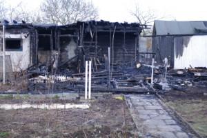 Brand am 24. März 2014 im Prüner Schlag. Möbelkraftaufsicht hat wieder mal versagt.
