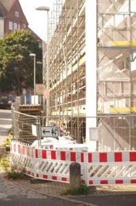 Verkehrsbehinderung durch Privatisierung in Gaarden