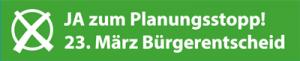 JA beim Bürgerentscheid in Kiel am 23.3.2014