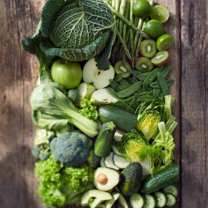 Jacob Zimmermann: Obst und Gemüse - grün