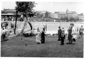 Katzheide-Eröffnung 1960 - fotografiert von Irmgard Arp