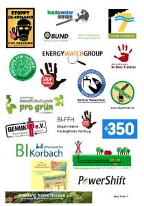 Klimabündnis gegen LNG