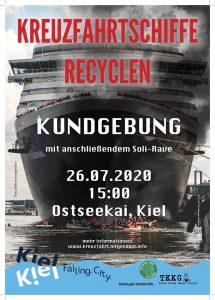 Kreuzfahrtschiffe recyclen
