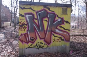 NK - Graffiti Nähe Forstbaumschule