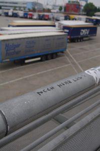 Noch mehr LKW's - an der Kieler Hörn