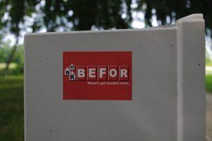 OBK-BEFOR: Wenn's gut werden muss
