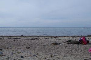 Ostseeküste bei Dänisch Nienhof - wie alle Strände der Ostsee potentiell von Weltkriegsmunition bedroht