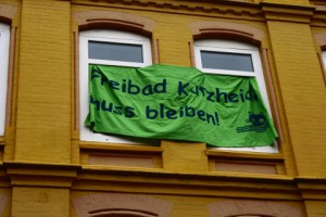 Rettet Katzheide - Protest in Kiel-Gaarden