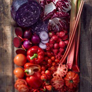 Rot:  Obst und Gemüse - Foto von Jacob Zimmermann