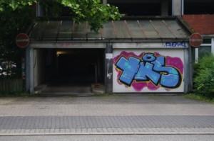 Spaziergang in Kiel-Gaarden Streetart yks