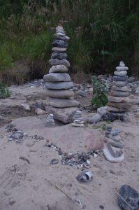 Stein-Skulpturen
