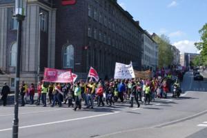 Streikdemo Sozialberufe Bergstraße