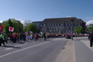 Streikdemo Sozialberufe Kleiner Kiel