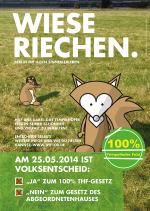 Tempelhofer Feld in Berlin: Ja beim Volksentscheid am 25. Mai
