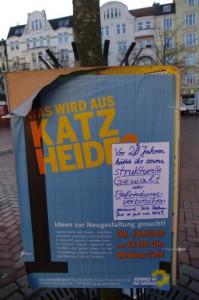 Vinetaplatz Kiel - Kommentar zur grünlicher Katzheideveranstaltung