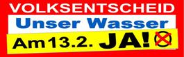Volksabstimmung Berliner Wasser