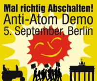 Anti-AKW-Demo Berlin 5.9.2009