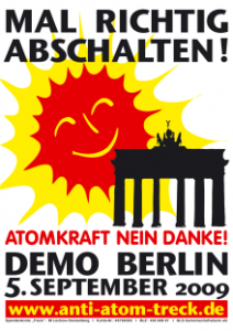 Anti-AKW-Demo Berlin 05.09.2009