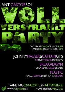 Kiel: Voll Verstrahlt Party