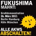 Fukushima mahnt
