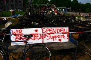 Occupy Kiel bittet um Spenden
