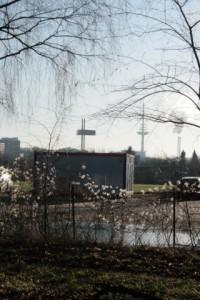 Moebelkraft-Mietcontainer in Kiel zur Vorbereitung der Zerstörung der Armengärten