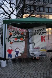 Protest gegen Möbelkraft-Ansiedlung in Kiel